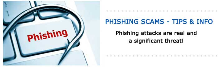 Phishing attacks are real and a significant threat!